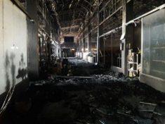 آتشسوزی بازار روز نگین دماوند