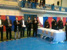 مسابقات کاراته در شهرستان دماوند